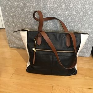 Fossil Fiona tote